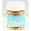 PAILLETTES SCINTILLANTES LARGES POT 150GR  OR