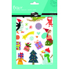 GOMMETTES BABY NOEL 105 GOMM. 6 PLANCHES 14,8X21CM