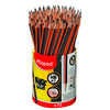 POT DE 72 CRAYONS GRAPHITE BLACK'PEPS HB
