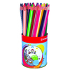 POT 38 CRAYONS COULEUR TRIO THICK ASSORTIS