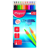 ETUI 12 CRAYONS COULEUR SCHOOL PEP'S TRIANG. ASS.