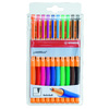 POCH.10 ROLLERS GEL POINTVISCO  COULEURS ASSORTIES