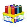 SCHOOLPACK 108 CRAYONS COULEUR GIOTTO MEGA