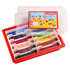 SCHOOLPACK 96 CRAYONS COULEUR TRIO THICK ASSORTIS