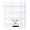 CAHIER A RABAT 24X32 96P 90G SEYES INCOLORE PP
