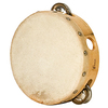 TAMBOURIN 15CM AVEC CYMBALETTES