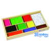 BARRES DE FRACTIONS  308 PIECES EN BOIS
