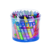 POT 60 CRAYONS CIRE GIOTTO MAXI  Diamètre 11MM ASSORTIS