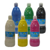 LOT 6 FLACONS 1L GOUACHE ELIOS COULEURS ASSORTIES