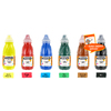 LOT DE 6 X 250 ML ENCRE DE CHINE DE COULEUR