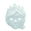 LOT 8 MASQUES PRINCESSES ET CHEVALIERS