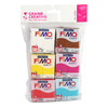 PATE A CUIRE FIMO SOFT GOURMANDISES DÉCOUVERTE LOT DE 10 PAINS 57GR