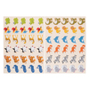 GOMMETTES 24 PLANCHES ANIMAUX SAUVAGES - 720 GOMM.
